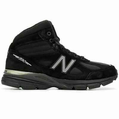 New Balance 990v4 Mid Shoes Boots Black Suede MO990BK4 NEW Men/'s $185