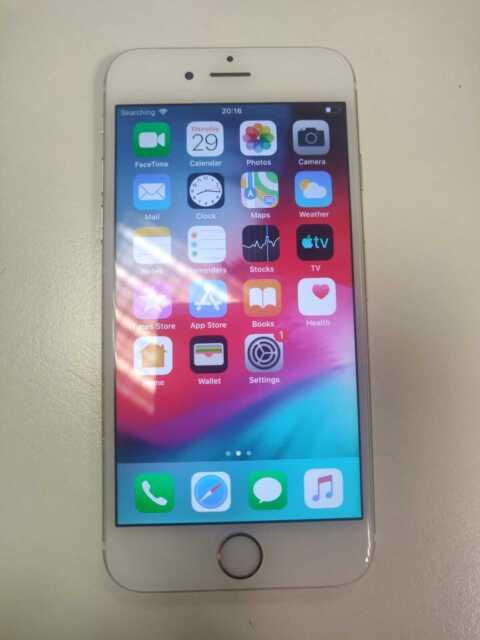 Apple iPhone 6 - 16GB - Silver (Unlocked) A1586 Network problem (CDMA GSM)