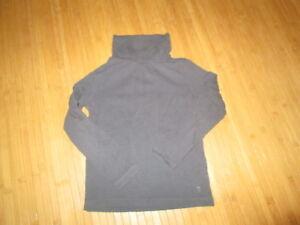 Tee-shirt-col-roule-Gris-ML-Taille-8ans-marque-Okaidi-en-TBE