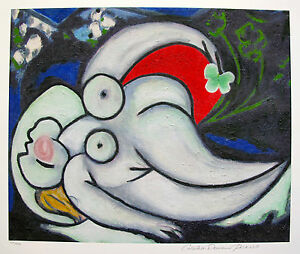 Pablo Picasso RECLINING NUDE Estate Signed & Stamped Limited Edition Giclee Art