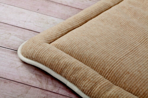 THICK MERINO WOOL PERUGIANO NATURAL Mattress Topper Bed PAD ALL SIZES WOOLMARK