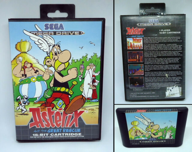 Asterix and the Great Rescue - SEGA Mega Drive MD PAL - 1993 - Asterix & Obelix