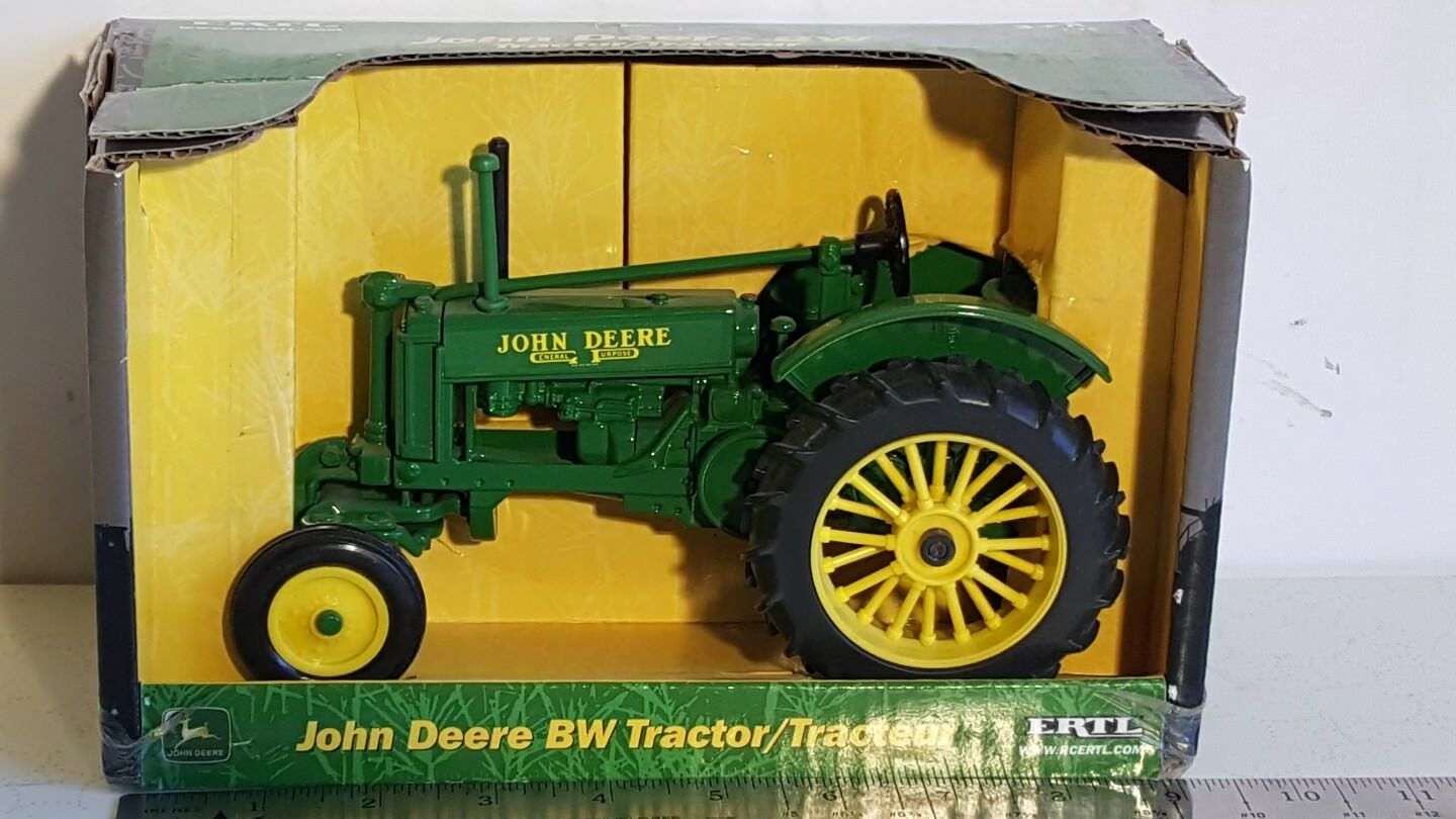 Ertl John Deere BW 1 16 diecast metal farm tractor replica collectible