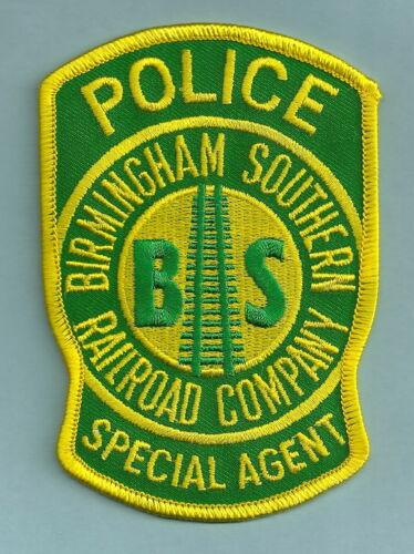 BIRMINGHAM SOUTHERN RAILROAD POLICE SHOULDER PATCH