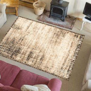 Teppich Verwaschene Optik Warme Gemütliche Farbe Modern Wohnzimmer Atropa beige
