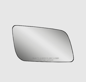 Fits 88-05 Astro Safari Van Right Pass Mirror Glass w// Rear Holder