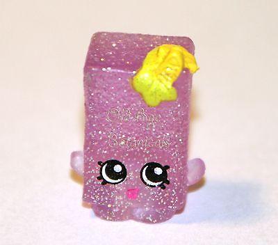 EXCLUSIVE Shopkins Season 3 Pink Purple Yo Chi FROZEN Glittery Glitzi Food  Fair