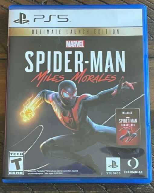 Marvel's Spider-Man: Miles Morales -- Ultimate Launch Edition PS5 Mint