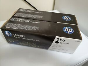 GENUINE-HP-312X-CF380XD-High-Yield-Black-Toner-2-Pack-MFP-M476-NEW-OEM-BF575