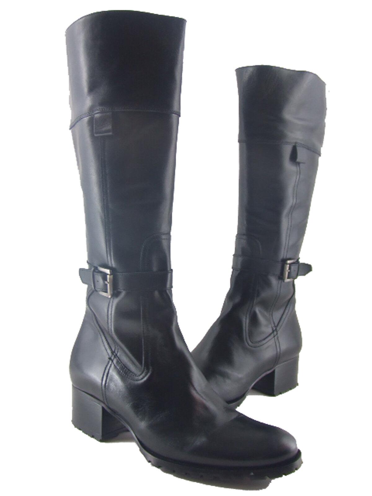 Oh  Michelle 3072 Berlín Foster Negro botas Negras Talla EU40 US9.5