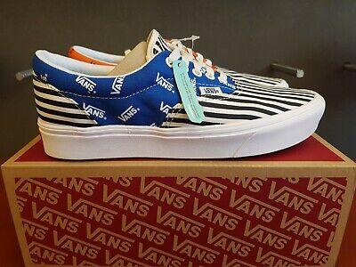 Nouveau dans la boîte VANS COMFYCUSH ERA épinglé Lapis BueScarl Chaussures Pour Hommes | eBay