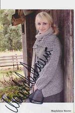 Magdalena Neuner  Biathlon Autogrammkarte original signiert 384772