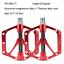 Promend Bicycle Titanium Pedal MTB Road Bike Pedals CNC 6 Sealed Bearings 251g