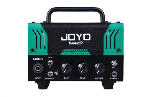 JOYO AtomiC Bantamp Guitar Amplifier head 20w Tube 2 Channel Bluetooth New !