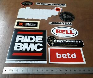 BMC-Charge-Bikes-Sue-Me-Betd-Fondriest-Bell-Knog-Stickers-Bicycle-Job-Lot
