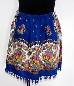 Hermosa-FOLK-Colorido-Falda-Diseno-Floral-RUSO-eslavo-Estilo-Varios-Tamanos
