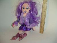 Ty Beanie Girlz Girls 12 Inch Dressed Doll Punky Penny Purple Computer Code