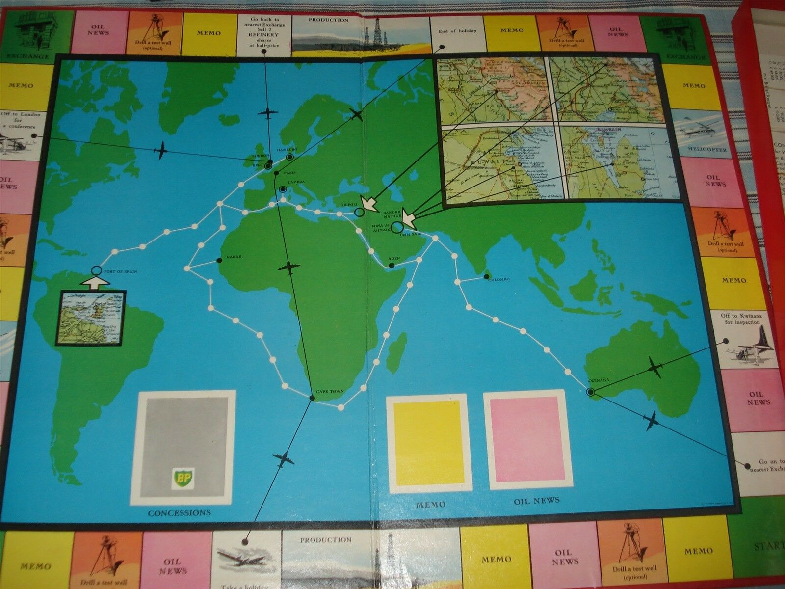 OIL GAME - THE THE THE GREAT ADVENTURE - OIL ADVENTURE GAME - MERIT - COMPLETE - 100% 37a41a