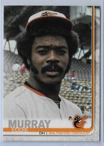 2019-Topps-Series-2-Baseball-Short-Print-Variation-Eddie-Murray-542-Baltimore