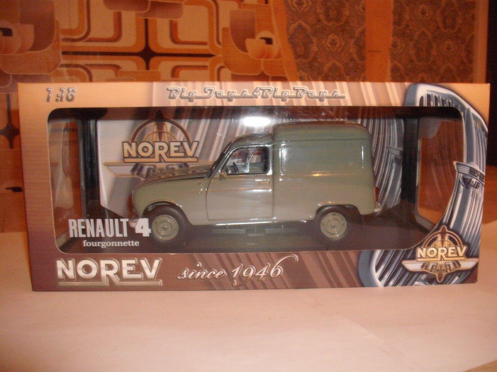 Renault 4 fourgonnette  1 18