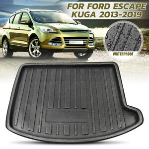 Rear Trunk Boot Mat Cargo Liner Floor Tray Carpet For Ford ...