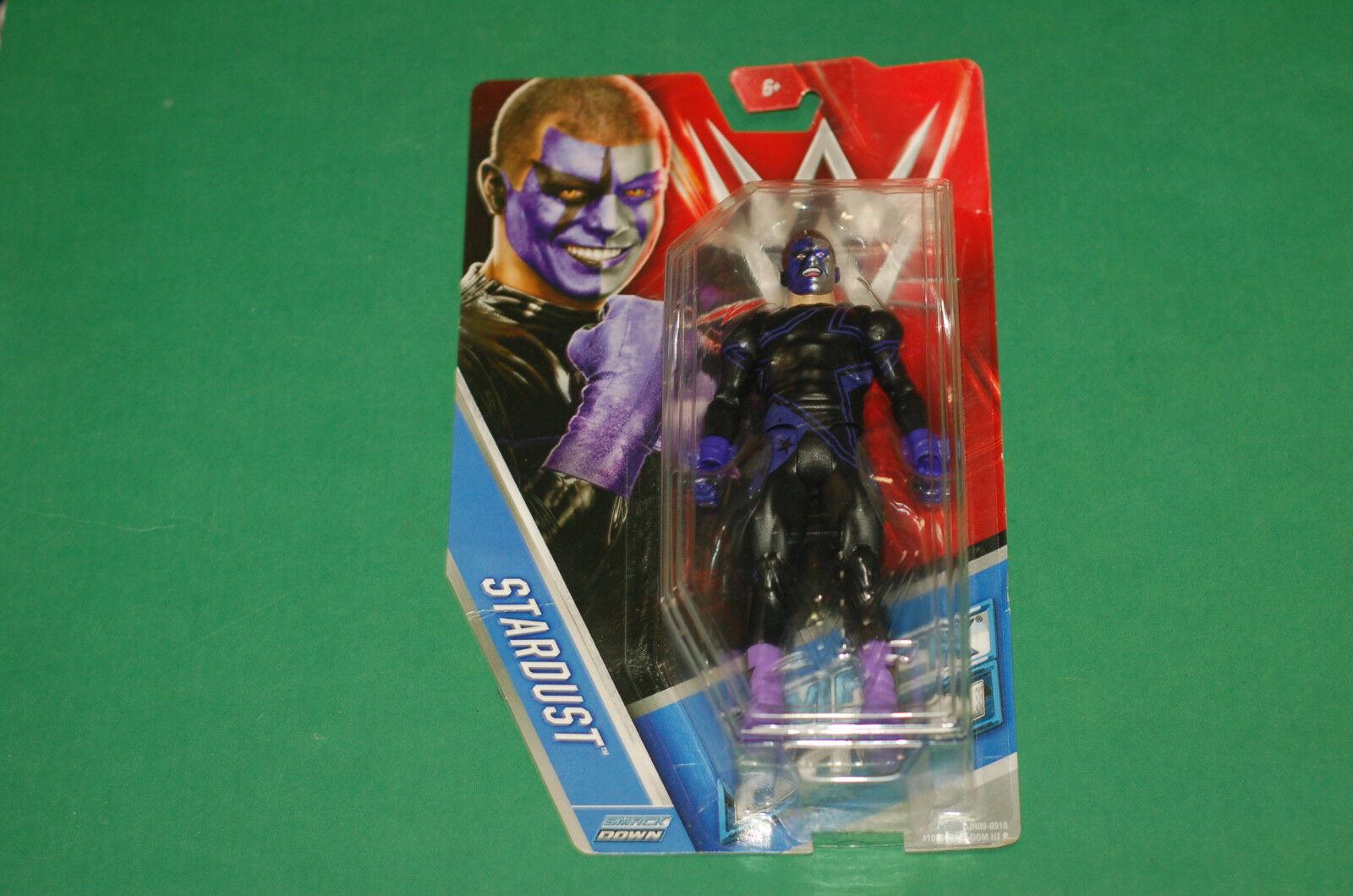 WWE WWF 58 Stardust purple attire basic wrestling figure figurine Mattel rare