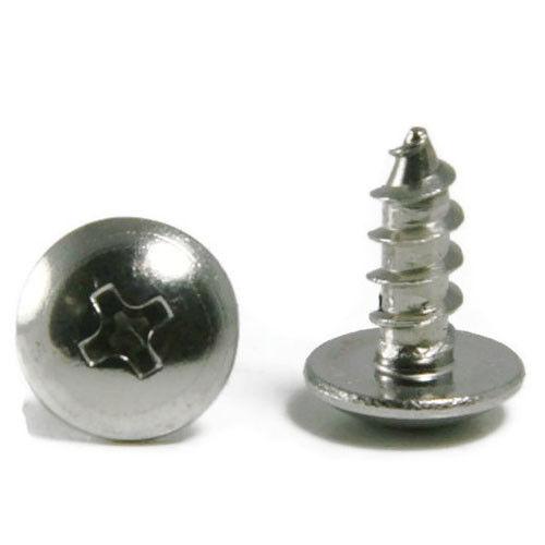 "Sheet Metal Screws Stainless Steel Phillips Truss Head #10 x 3/"" Qty 25"