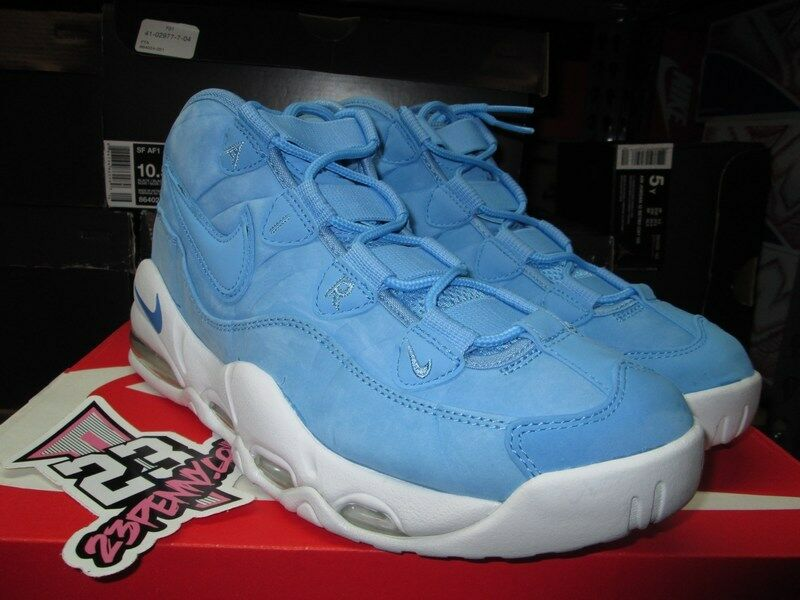 Special limited time SALE AIR MAX UPTEMPO 95 AS QS UNIVERSITY BLUE CAROLINA 922932 400 Price reduction