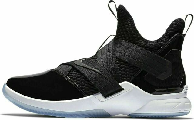 best service e18ca 772d8 Nike Lebron Soldier XII SFG Basketball Mens Shoes Black AO4054-005