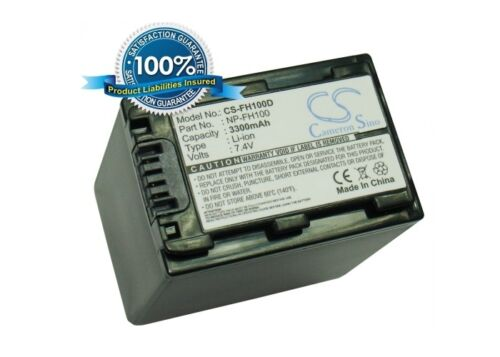 Reino Unido Batería Para Sony Dcr-dvd103 Np-fh100 7.4 v Rohs