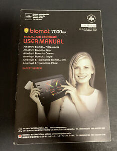 Richway-International-Biomat-7000MX-Amethyst-amp-Tourmaline-USER-MANUAL-ONLY