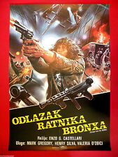 ESCAPE FROM THE BRONX 1983  MARK GREGORY  ENZO CASTELLARI  SCI-FI   MOVIE POSTER