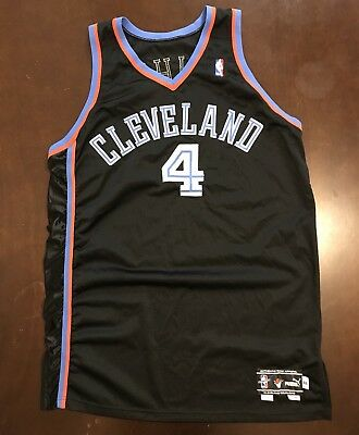 Rare Vintage Puma Authentic NBA Cleveland Cavaliers Chris Mihm Basketball  Jersey | eBay