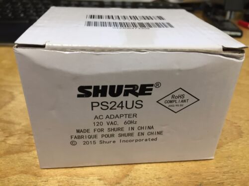 Original Part! Shure PS24US OEM Power Adapter 12V 400MA 2015