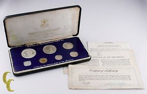 1980-Philippines-Proof-Set-Issued-by-the-Franklin-Mint-w-Box-and-CoA
