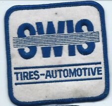 SWIS Tires Automotive Colorado patch 3 X 3 #1057