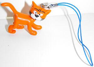 Azreal-Cat-Smurf-3D-Figure-Charm-THE-SMURFS-Purse-Hanger-Bag-Dangler-Cool-Things