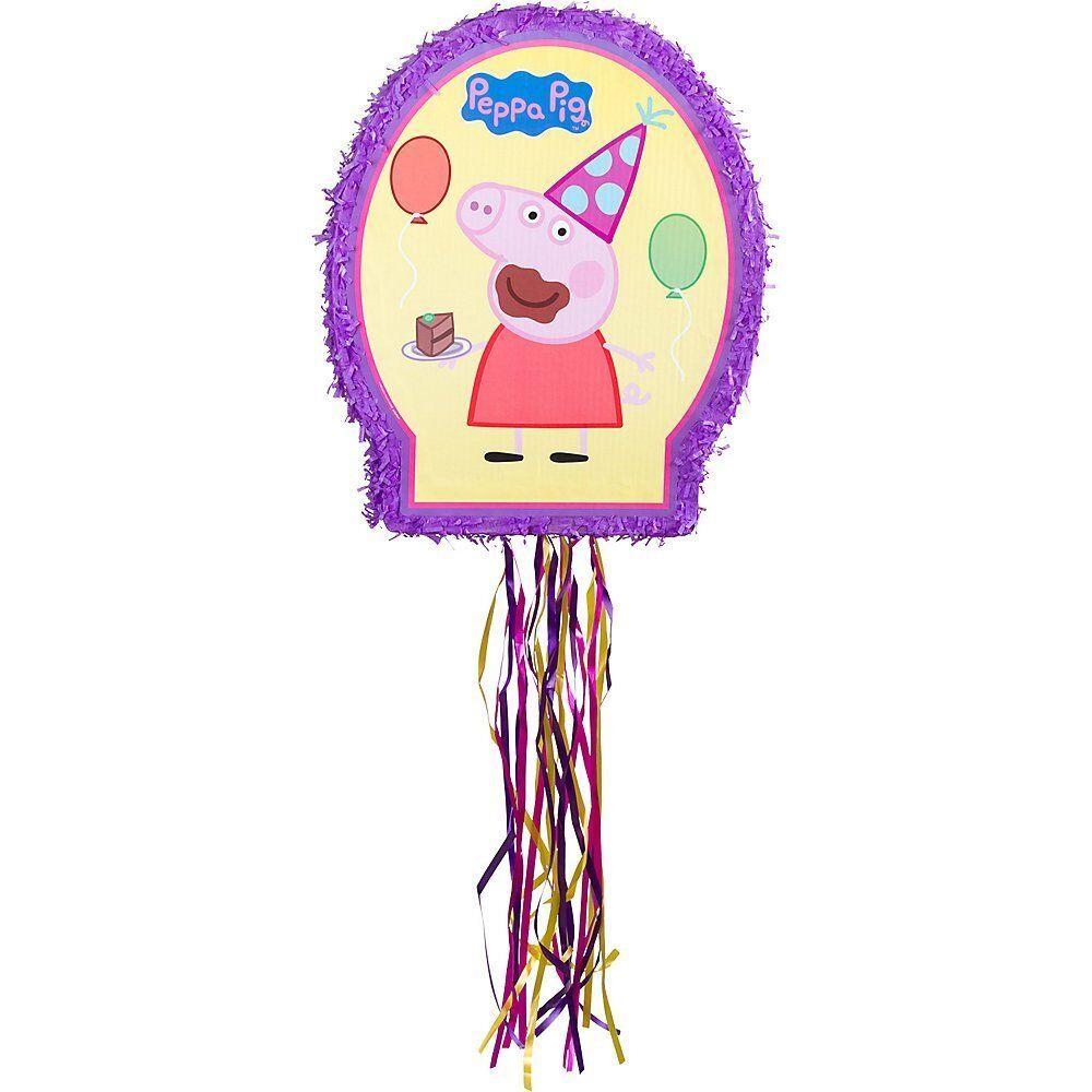 Peppa Pig Pinata Birthday Party Fun Supplies 22 x 18 x 3