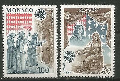 Monaco Europa Cept 1982 Ohne Briefmarkenfalz Mnh Gute Begleiter FüR Kinder Sowie Erwachsene Europa