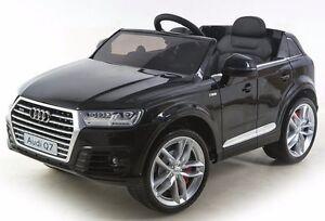 voiture quad b b enfant lectrique 4x4 audi q7 luxe roues. Black Bedroom Furniture Sets. Home Design Ideas