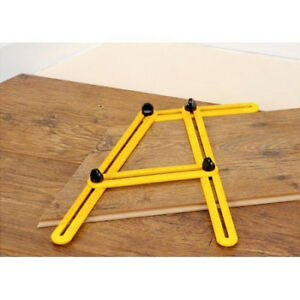 abmessen instrument multi winkel l nge schablone werkzeug vierseitig zollstock ebay. Black Bedroom Furniture Sets. Home Design Ideas