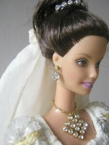 OOAK-Barbie-ivory-embroidered-wedding-dress-with-pearls