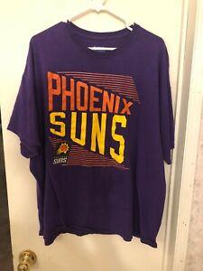 low cost a662b 189da Details about Phoenix Suns T-Shirt Purple Orange and Yellow 90s Logo NBA  Size XL Pro-Shop