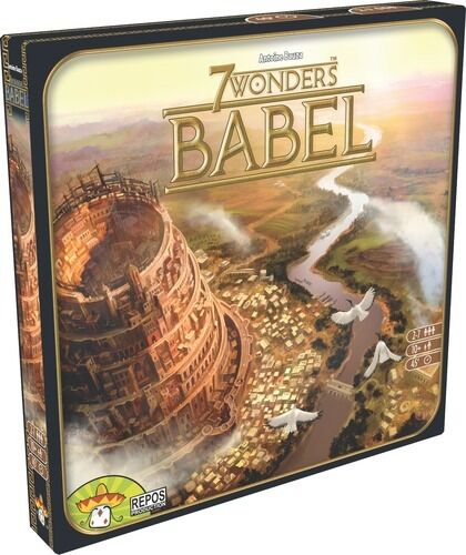 7 Seven Wonders, Babel - Expansion - New, Italiano