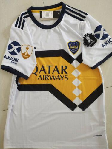 2020-2021 Boca Juniors Home Away soccer Jersey  and Copa Libertadores patch