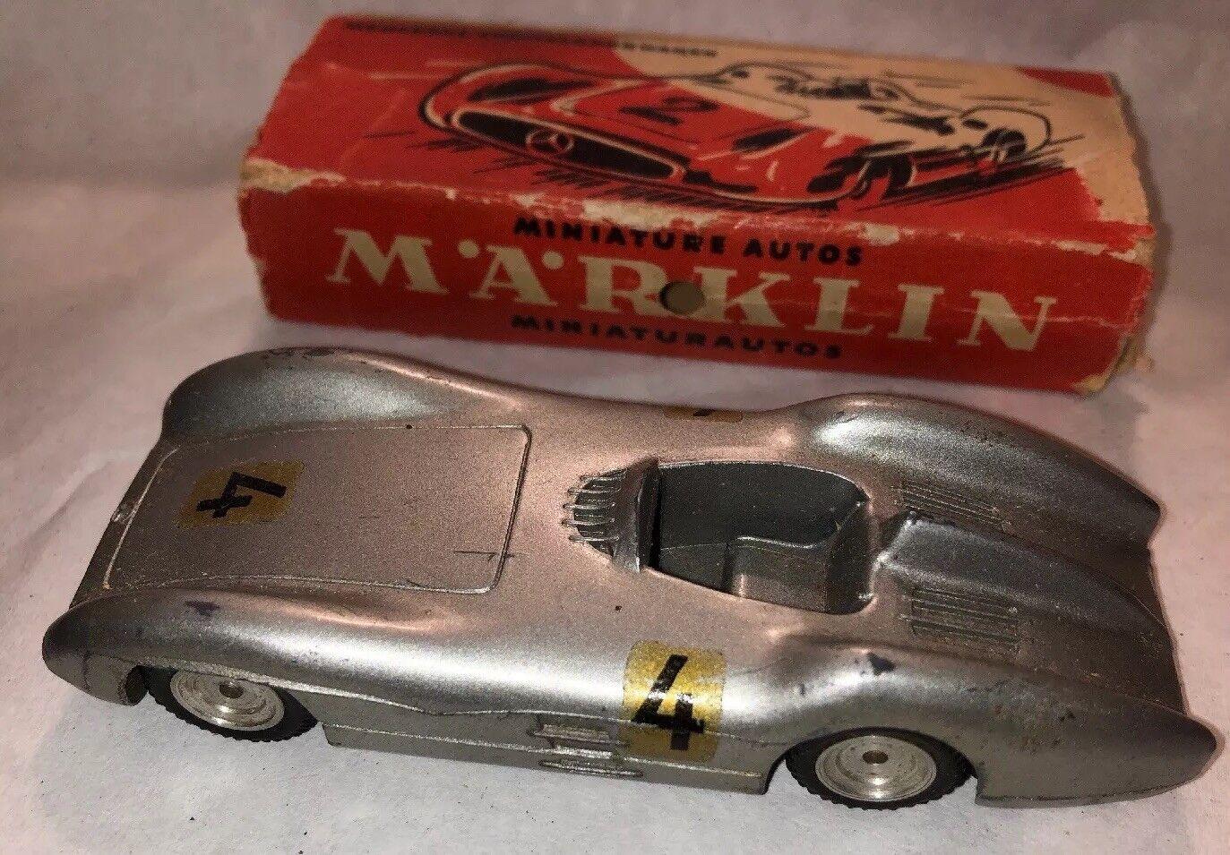 Marklin Mercedes Formelrennwagen Vintage Diecast race Car W Box 5524 11