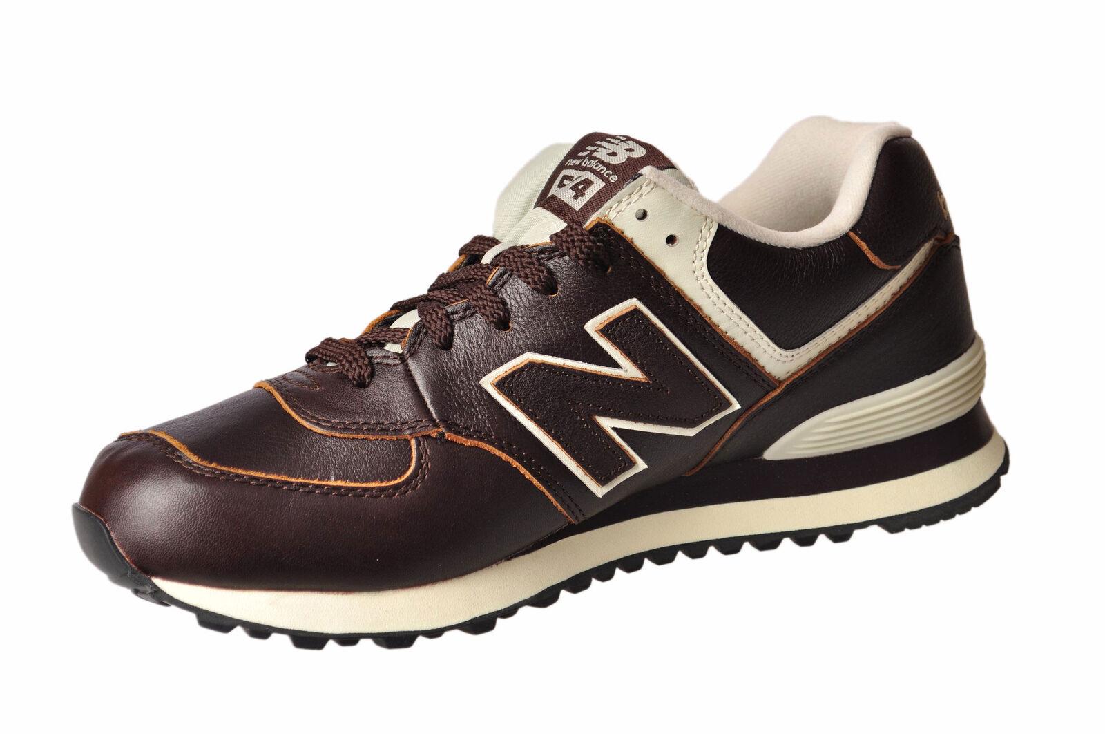 Scarpe casual da uomo  New Balance  -  Sneakers - Male - Brown - 2577527N173645
