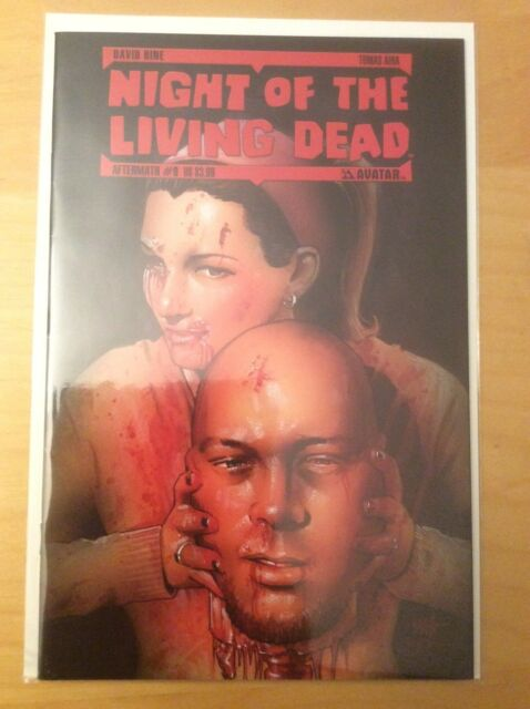 NIGHT OF THE LIVING DEAD 9, VFNM 9.0, 1ST PRTIN, AVATAR, AFTERMATH