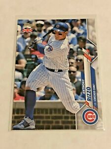 2020-Topps-Baseball-UK-Edition-Base-Card-Anthony-Rizzo-Chicago-Cubs