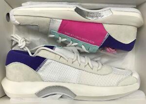 c793d817ca02 Adidas Crazy 1 ADV NICEKICKS Off White Aqua Pink Consortium NMD ...